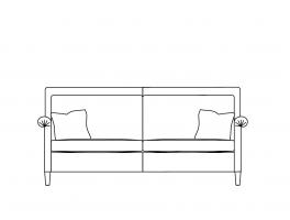 Duresta Gabrielle Medium Sofa