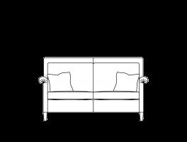 Duresta Gabrielle Small Sofa