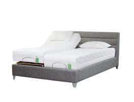 TempurGenoa Adjustable Massage Bedstead