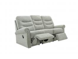 G Plan Holmes 3 Seater LHF Manual Recliner Sofa