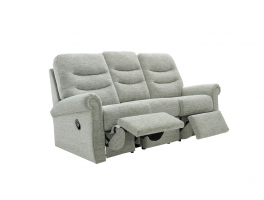 G Plan Holmes 3 Seater LHF Power Recliner Sofa