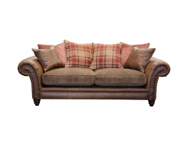 Alexander & James Hudson 3 Seater Pillow Back Sofa