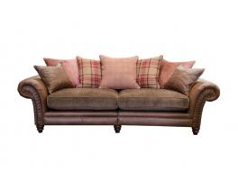 Alexander & James Hudson 4 Seater Pillow Back Sofa