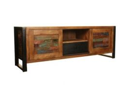 Baumhaus Urban Chic Sliding Door TV Unit