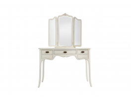 Chateau Dressing Table with Triple Mirror