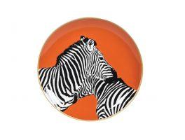 Pair of zebras Decorative Plate