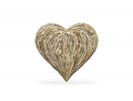 Bluebone Driftwood Large Heart Wall Deco