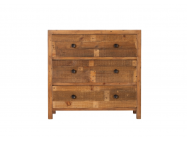 Ruston Bedroom 3 Drawer Wide Chest
