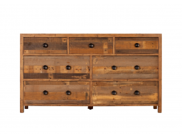 Ruston Bedroom 7 Drawer Wide Chest