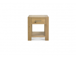 Brienne Light Lamp Table with Drawer