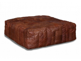 Large Leather Cube