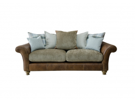 Alexander & James Lawrence 3 Seater Pillow Back Sofa