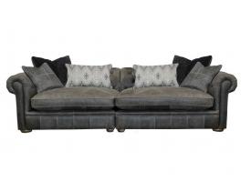 Alexander & James The Retreat Leather Maxi Split Sofa