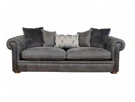 Alexander & James The Retreat Leather Midi Sofa