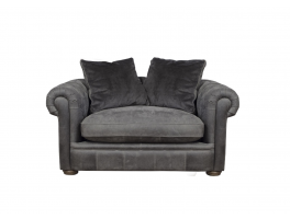 Alexander & James The Retreat Leather Snuggler Chair