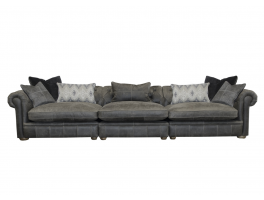Alexander & James The Retreat Leather Maxi XL Split Sofa