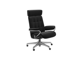 Stressless London Office Chair with Adjustable Headrest Quick Ship