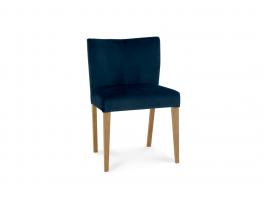 Brienne Light Blue Velvet Chair (Pair)