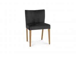 Brienne Light Gun Metal Velvet Chair (Pair)