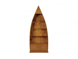 Thornbury Office 4 Shelf Dinghy Bookcase