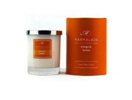 Marmalade of London Glass Jar Candle Mango & Lychee