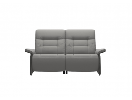 Stressless Mary 2 Seater Sofa Double Power Wooden Arms Quick Ship