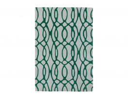 Asiatic Matrix Wire Green Rug