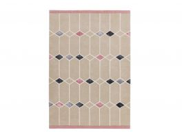 Asiatic Matrix Jewel Pink Rug
