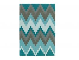 Asiatic Matrix Cuzzo Teal Rug