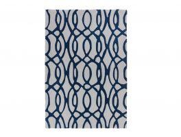 Asiatic Matrix Wire Blue Rug