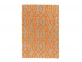 Asiatic Matrix Wire Orange Rug