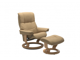 Stressless Mayfair Classic Recliner Chair with Footstool Quick Ship