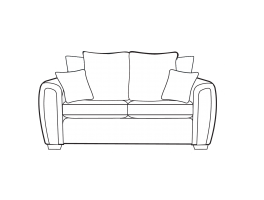 Alstons Memphis 3 Seater Sofa Pillow Back