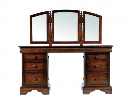 Bridgette Dressing Table with Mirror