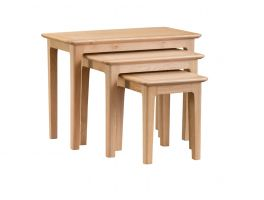 Scandi Dining Nest of 3 Tables