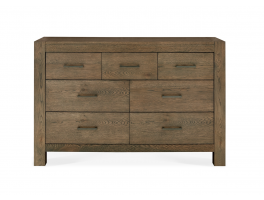 Brienne Bedroom 7 Drawer Wide Chest
