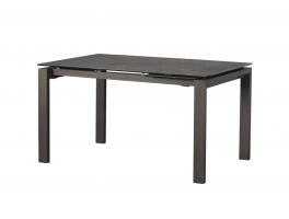 Harris 140cm-180cm Extending Dining Table (Dark Grey)