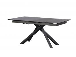 Harris 160cm-200cm Extending Dining Table (Dark Grey)