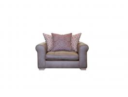 Alexander & James Pemberley Pillow Back Snuggler Chair