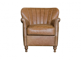 Alexander & James Percy Leather Chair