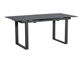 Harris Extending Dining Table (Dark Grey)