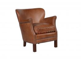 Halo Professor Leather Armchair