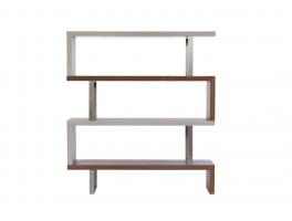 Serpa Walnut & Concrete Bookcase