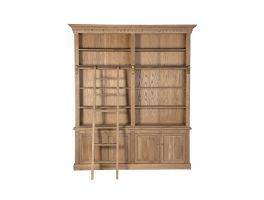 Newbury Library Bookcase & Ladder
