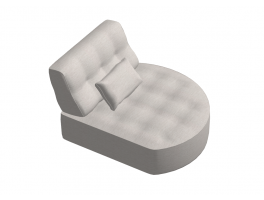 Fama Arianne Love Chaise Longue Round 'Y2'