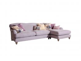 Tetrad FF Ruffle Chaise Sofa