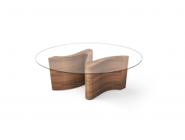 Tom Schneider Serpent Small Twin Base Dining Table