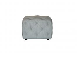 Alexander & James Button Footstool Small Fabric Footstool