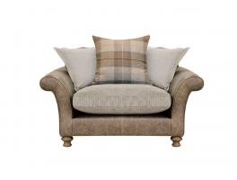 Alexander & James New Lawrence Pillow Back Snuggler Chair