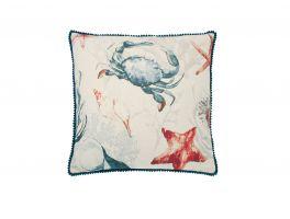Marine Life Crab Cushion